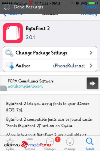 doi font chu iphone 1