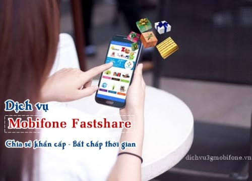 Dịch vụ bắn tiền Mobifone Fastshare